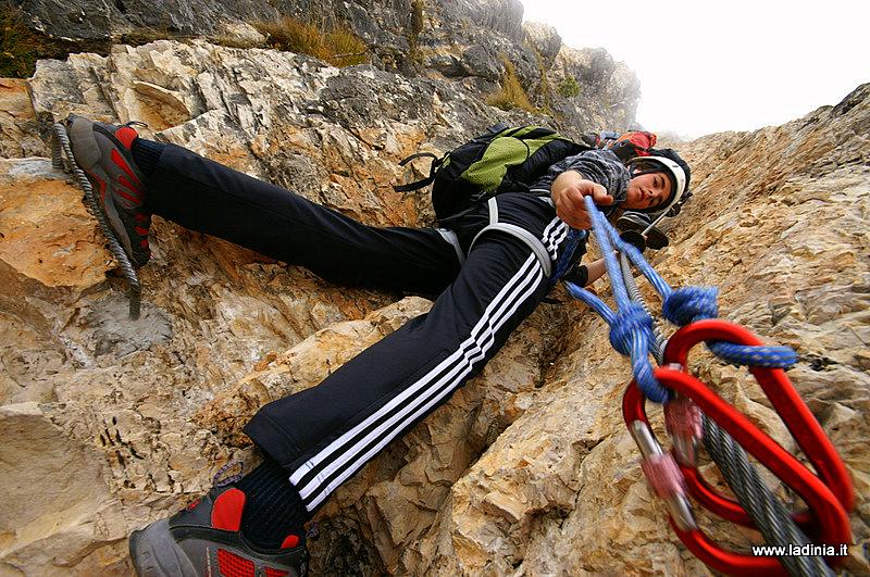 Klettersteig Wolkenstein : Wanderung klettersteig pertini stevia in wolkenstein ladinia
