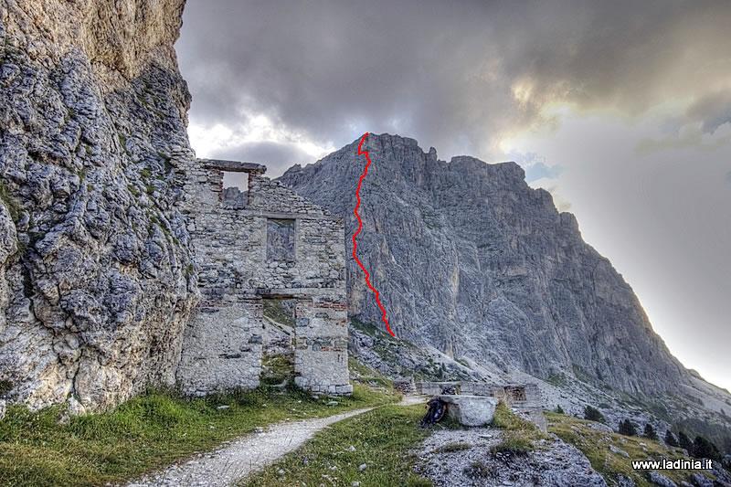 Wanderung Col Dei Bos Klettersteig In Cortina D Ampezzo