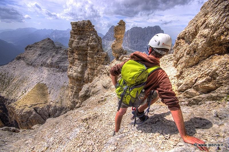 Klettersteig Wolkenstein : Wanderung mesules klettersteig in wolkenstein ladinia dolomiten